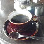ツルカメ食堂 - 本日のランチ ホットコーヒー