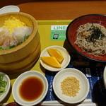 海の穂まれ - 料理写真:真鯛づくし+ミニぶっかけ蕎麦☆