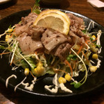 しんかい - 料理写真:豚の冷しゃぶサラダ〜梅肉だれ〜