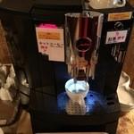 館ブランシェ - コーヒー、紅茶はセルフ(飲み放題)になっていた。