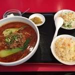 四川厨房 - 以前のメニュー本格担々麺セット800円