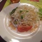 ハル スリランカ - ランチセットのサラダ