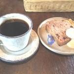 喫茶古良慕 - ケーキと珈琲 +500円