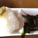 ソファリ - 麺が終われば、リゾット用のおにぎりを追加(100円)