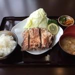 なかむら - 料理写真:山賊焼定食
