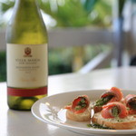 Natural Garden Cafe PUFFPUFF - 料理写真:ニュージーランドワインが合うんです