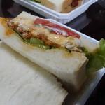 トレモロ - ☆ローストチキンのサンドイッチ(*^^)v☆