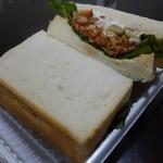 トレモロ - 料理写真:☆オリジナルミートソースのサンドイッチ(≧▽≦)/~♡☆