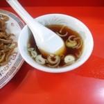 東輝 - 中華スープ付きです(15.04.25)