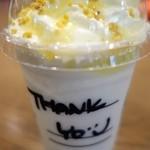 STARBUCKS COFFEE - (2015/3月)カップにThank Youと書いてくれてた♪