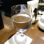 ダマン リュミエール - ☆お水グラスはこんな感じです☆