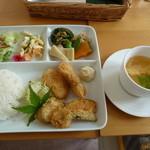 ミルフル - 日替わりの和食です