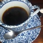 ミハル喫茶 - 器も素敵なコーヒー。とてもいいお味してます。