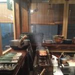 焼鳥スエヒロガリ - 焼き場