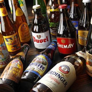 160種類以上のヨーロッパのビール!
