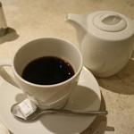 アニヴェルセル カフェ - 珈琲ポットサービス