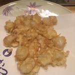 天ぷら てんかつ - ホクホクの百合根