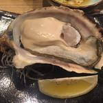 天ぷら てんかつ - 厚岸の牡蠣♪美味しい!!
