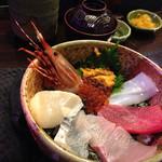 雅 - 海鮮丼2100円