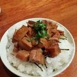 麺や 松辰 - チャーシュー丼