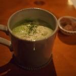 雨ことば カフェ - 抹茶ラテ