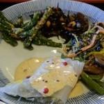レストラン古洞 - 料理の一例