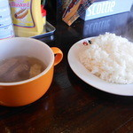 37323310 - スープ&ライス