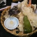 茶山 - 天ぷら (天婦羅定食)