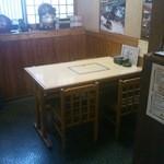 茶山 - テーブル席