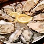 37326288 - 牡蠣5種食べ比べ