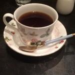 炭火珈琲 仏蘭西菓子 シャンポリオン - コーヒー430円