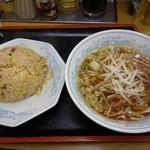 福しん - 焼豚チャーハンセット690円