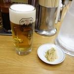 福しん - 生ビール390円