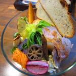 """Roji菜園テーブル - """"もりやさいランチ""""¥1,200"""