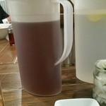 37328702 - レモン水とジャスミン茶