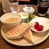 Furutsukafesaitasaita - 料理写真:パニーニのランチです