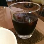 Fruit Cafe Saita!Saita! - ドリンクは、アイスコーヒーで