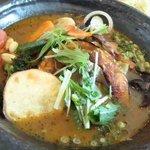 Soup Curry SAMURAI. - 野菜+角煮