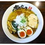 37331442 - 「旨塩鶏麺+味玉」(2015.04)