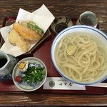 手打ちうどん田中屋 - 料理写真:天釜うどん【800円】