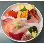 味の店 五味屋 - 「おまかせ丼」(2010.09)