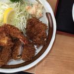 燕楽 - ミックスフライ定食
