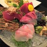 串とんぼ 夷 - 料理写真:刺し盛り