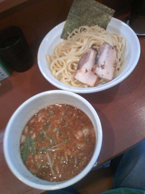 ミョー ミャンマー - 味噌つけ麺(並盛)750円