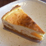 MANGALA - リンゴのベイクドチーズタルト