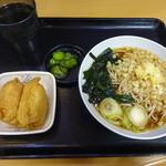 名代 富士そば - 朝食セット:310円