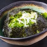 海のちゅうべえ - 韓国海苔のチョレギサラダ