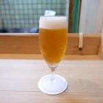 日本料理 櫻川 - 生ビール