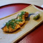 日本料理 櫻川 - 焼物(桜鱒)