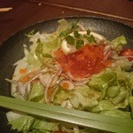 和素材料理とお酒 くさび - サラダ:イクラが入ってました